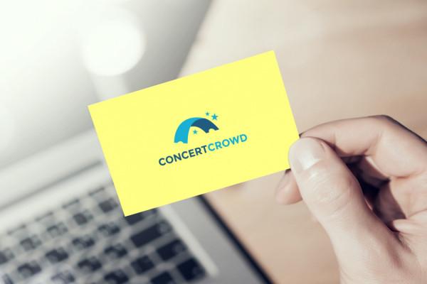Sample branding #2 for Concertcrowd