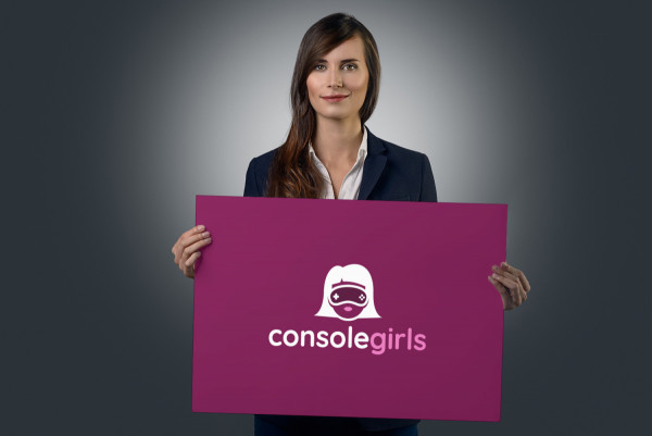 Sample branding #1 for Consolegirls