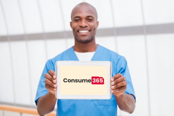 Sample branding #2 for Consume365
