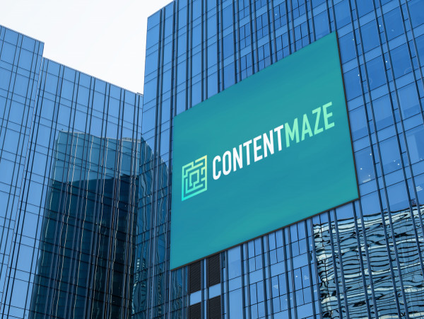 Sample branding #1 for Contentmaze