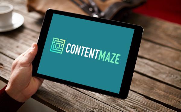 Sample branding #3 for Contentmaze