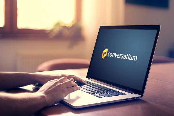 Sample branding #2 for Conversatium