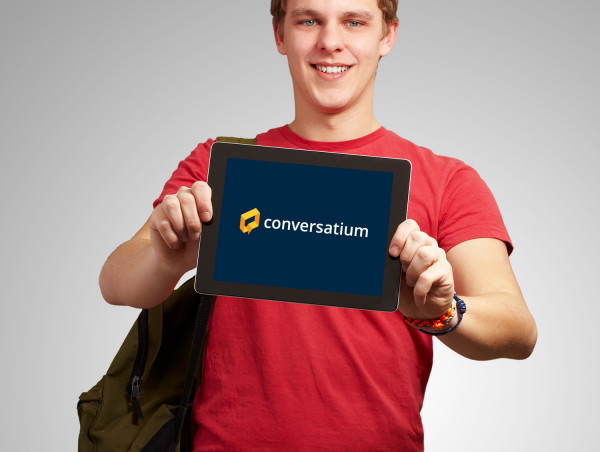 Sample branding #3 for Conversatium