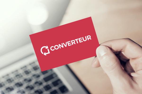 Sample branding #2 for Converteur