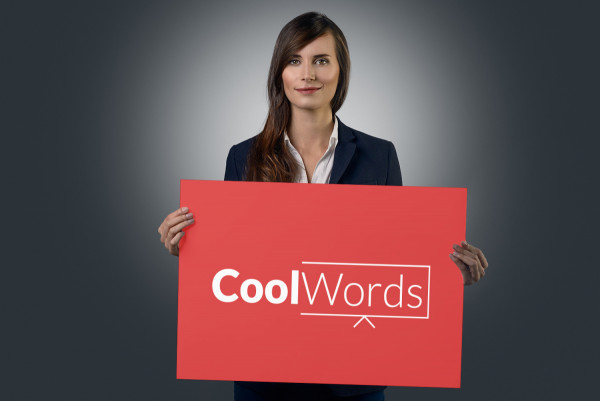 Sample branding #1 for Coolwords