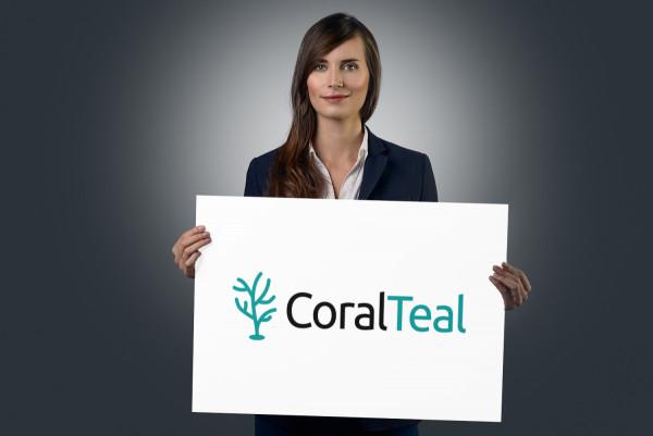 Sample branding #1 for Coralteal