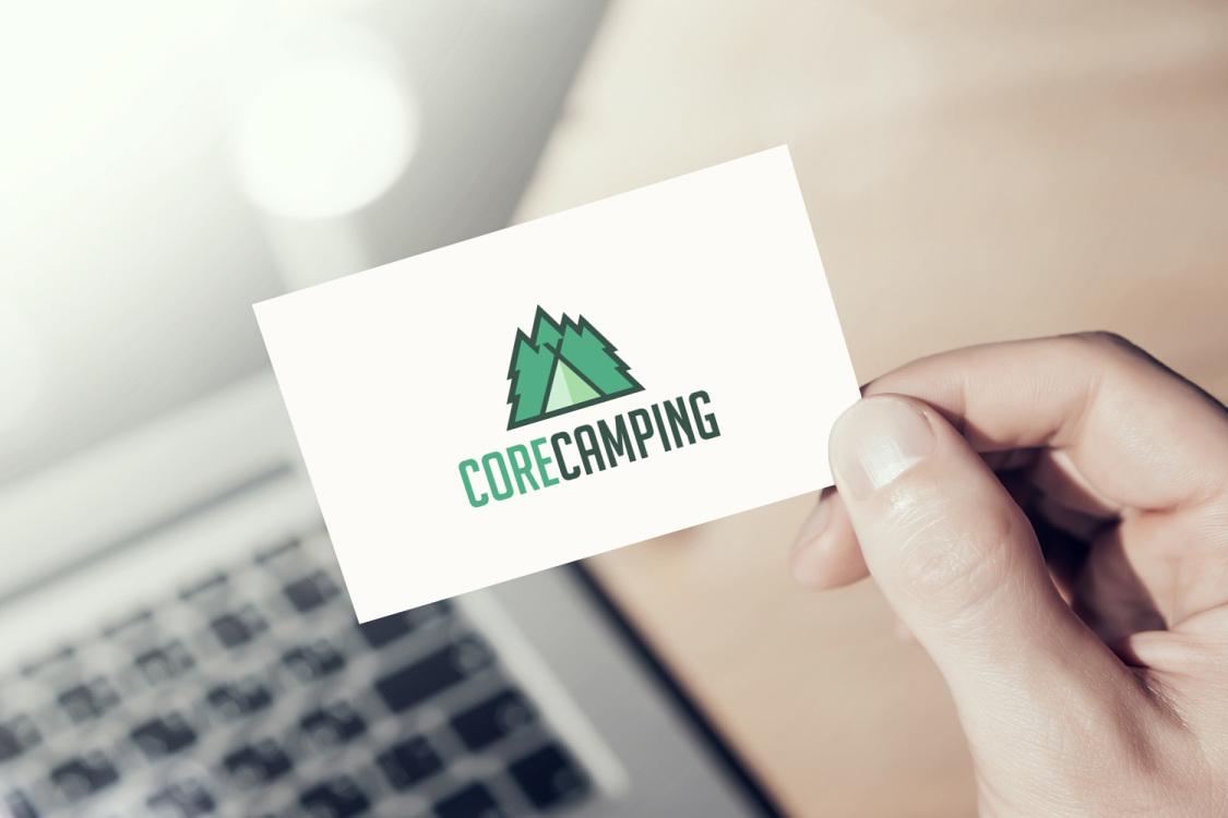 Sample branding #1 for Corecamping
