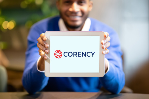 Sample branding #1 for Corency