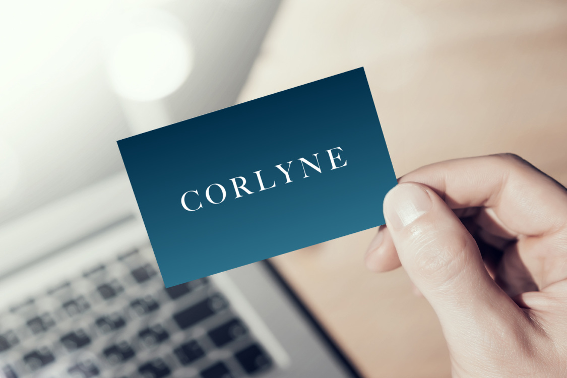Sample branding #1 for Corlyne
