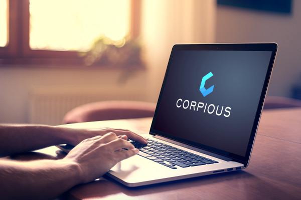 Sample branding #1 for Corpious