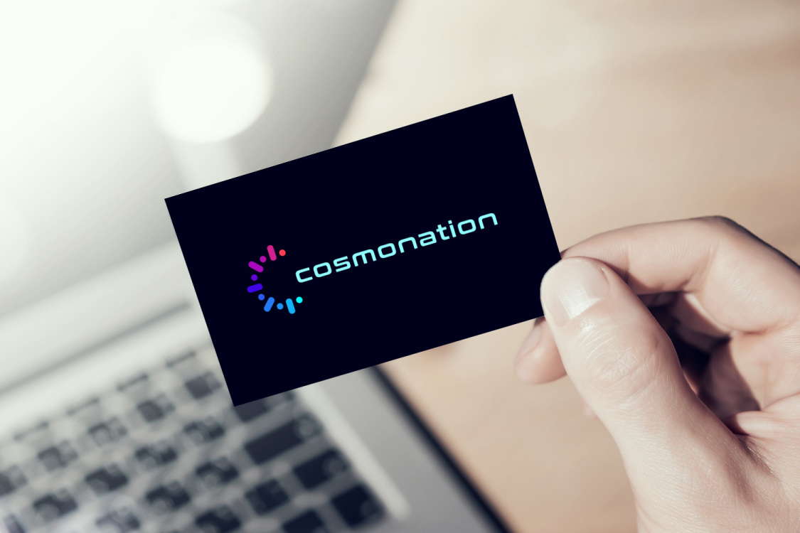 Sample branding #1 for Cosmonation