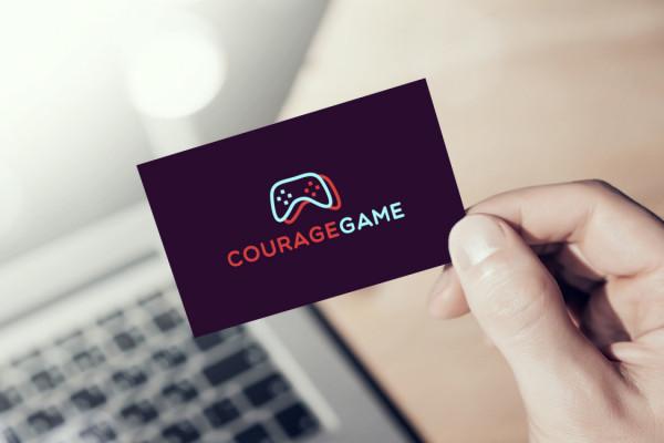 Sample branding #2 for Couragegame