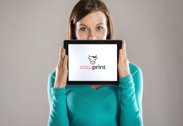 Sample branding #2 for Cowprint