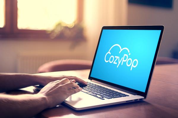 Sample branding #2 for Cozypop