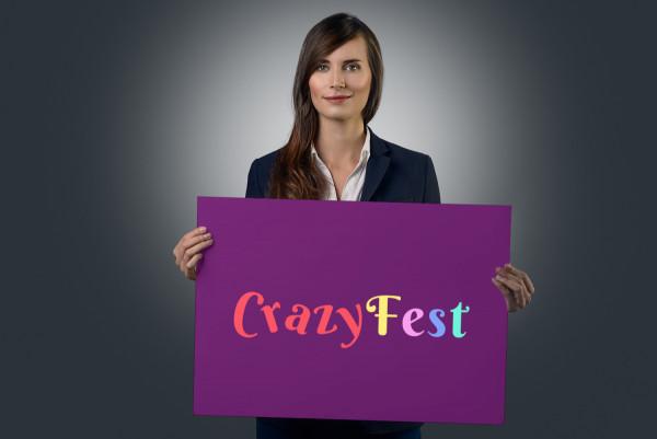 Sample branding #2 for Crazyfest