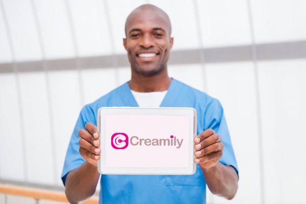 Sample branding #1 for Creamily