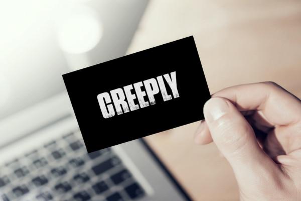 Sample branding #3 for Creeply