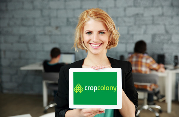 Sample branding #1 for Cropcolony