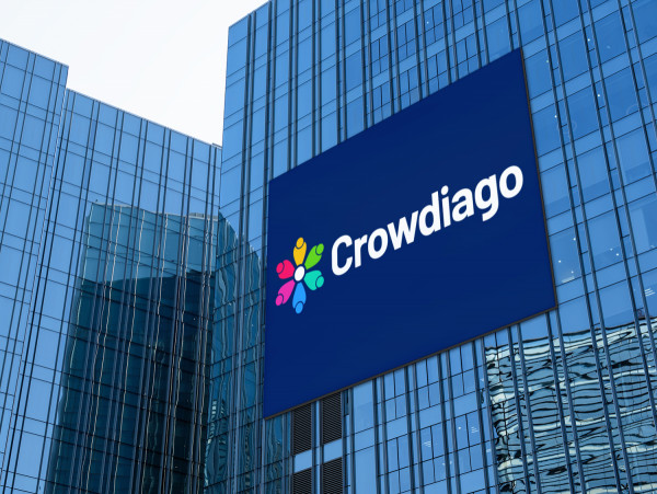 Sample branding #1 for Crowdiago