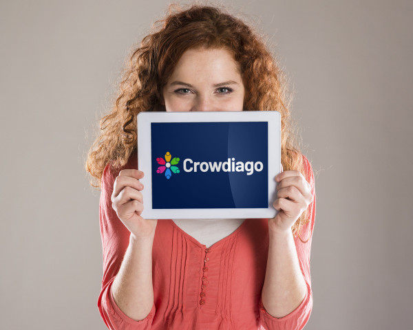Sample branding #2 for Crowdiago