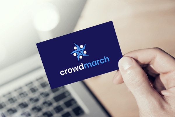 Sample branding #1 for Crowdmarch