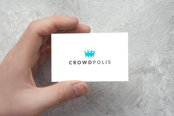 Sample branding #1 for Crowdpolis