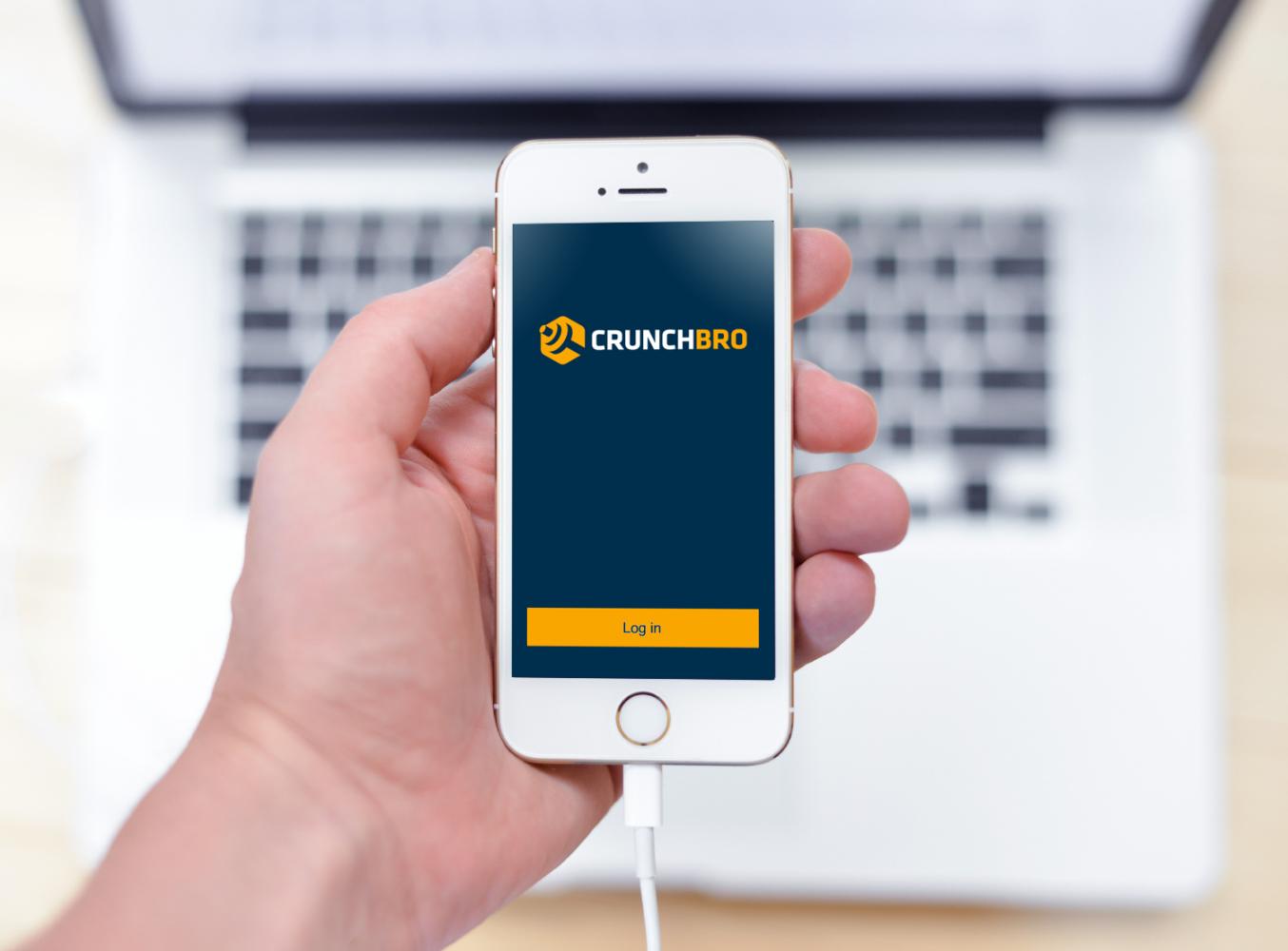 Sample branding #2 for Crunchbro