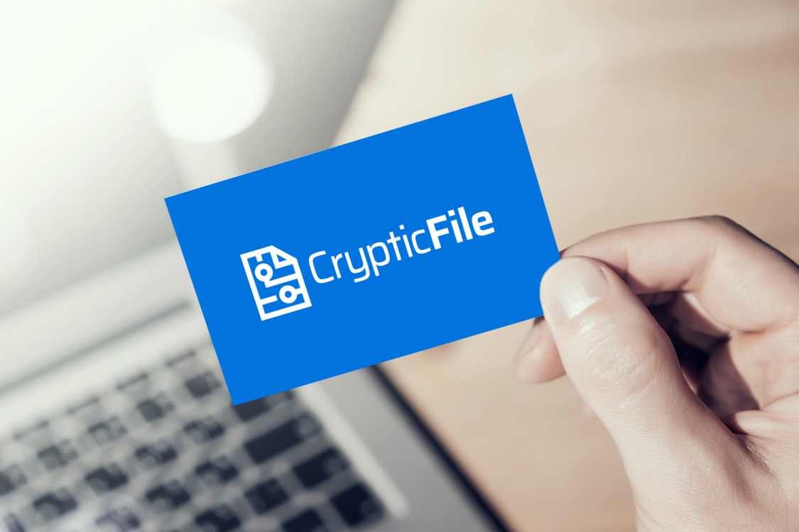 Sample branding #2 for Crypticfile