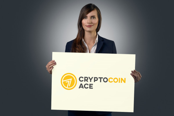Sample branding #1 for Cryptocoinace