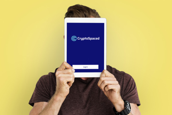 Sample branding #2 for Cryptospaced
