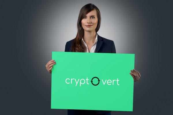 Sample branding #1 for Cryptovert