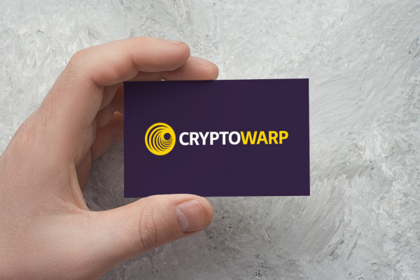 Sample branding #2 for Cryptowarp