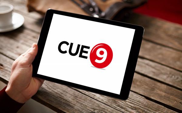 Sample branding #2 for Cue9