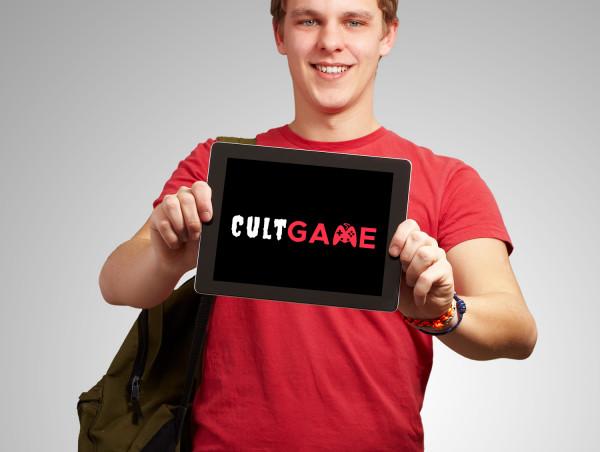 Sample branding #2 for Cultgame