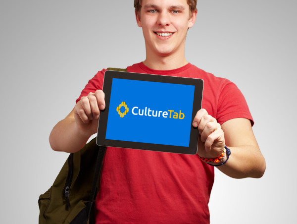 Sample branding #1 for Culturetab
