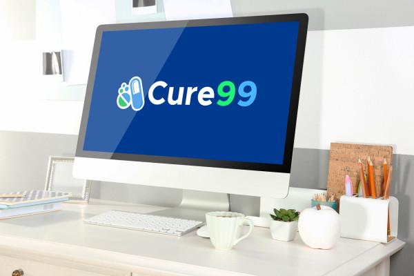 Sample branding #3 for Cure99