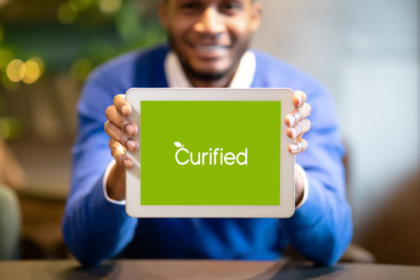 Sample branding #2 for Curified