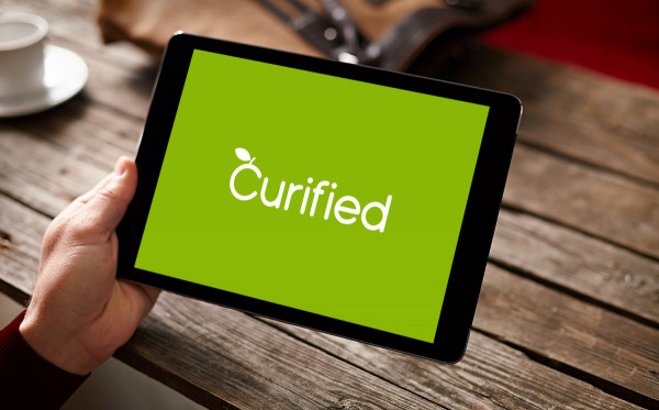 Sample branding #1 for Curified