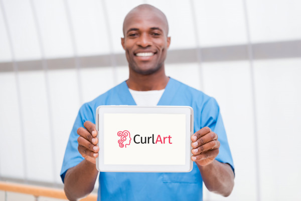 Sample branding #2 for Curlart