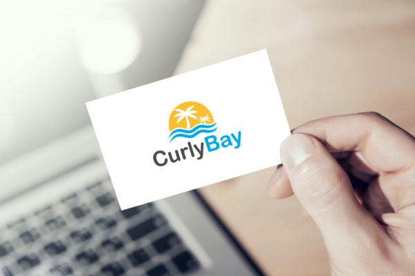 Sample branding #2 for Curlybay