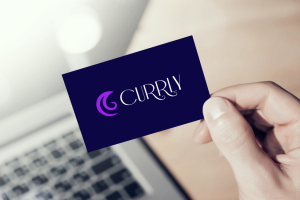 Sample branding #1 for Currly