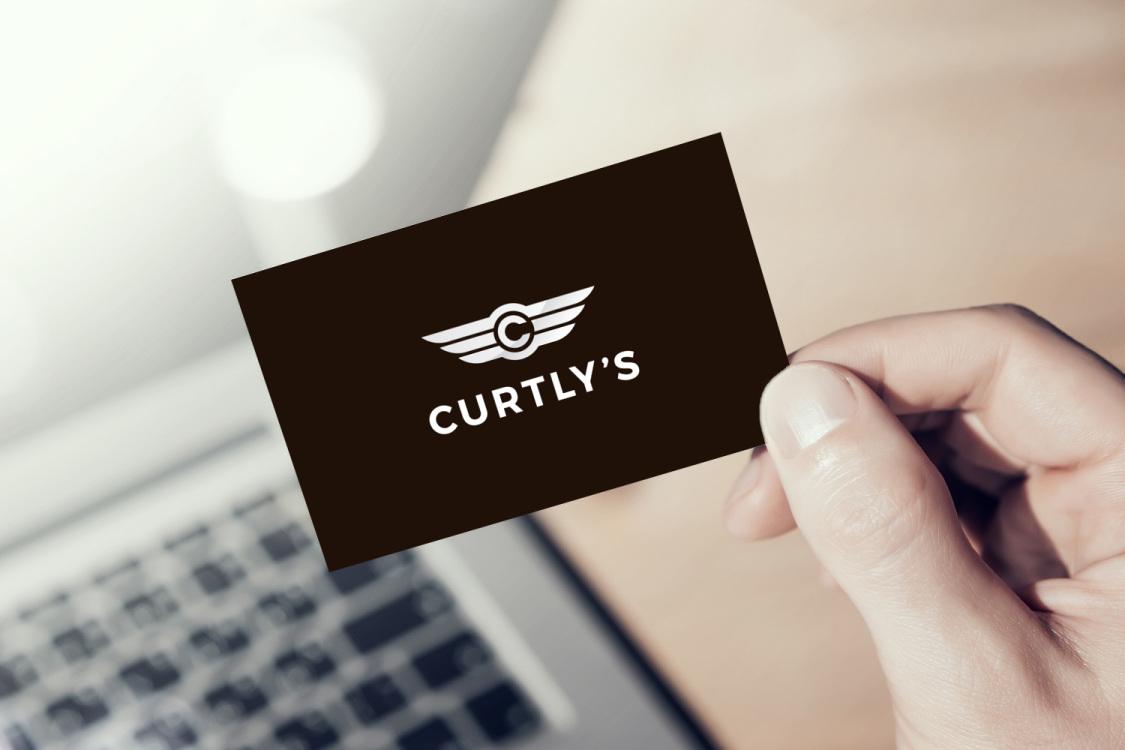 Sample branding #2 for Curtlys