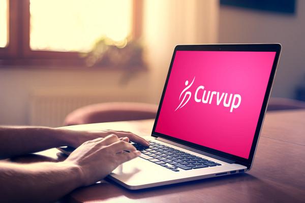 Sample branding #2 for Curvup