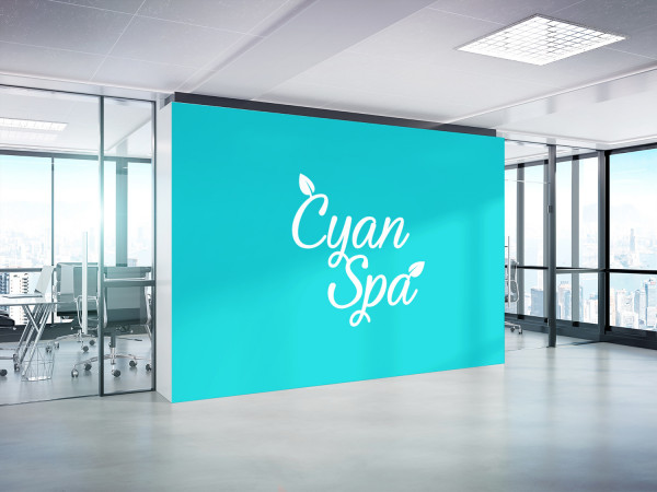 Sample branding #2 for Cyanspa