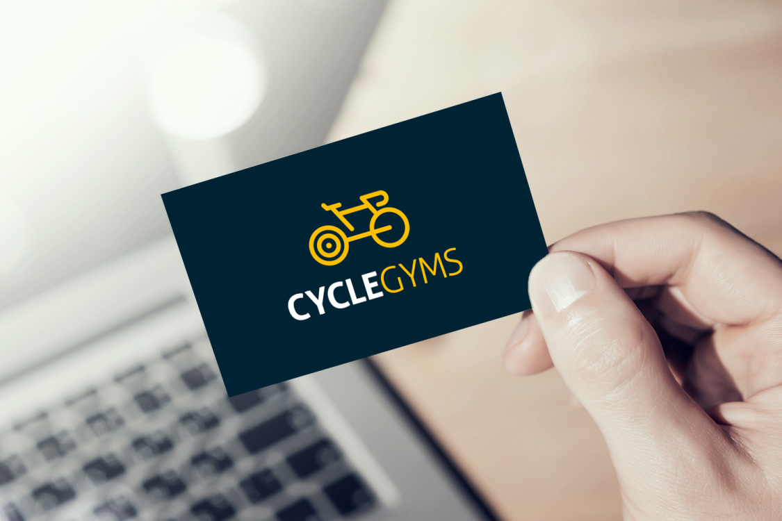 Sample branding #2 for Cyclegyms