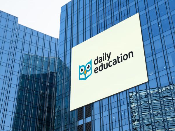 Sample branding #2 for Dailyeducation
