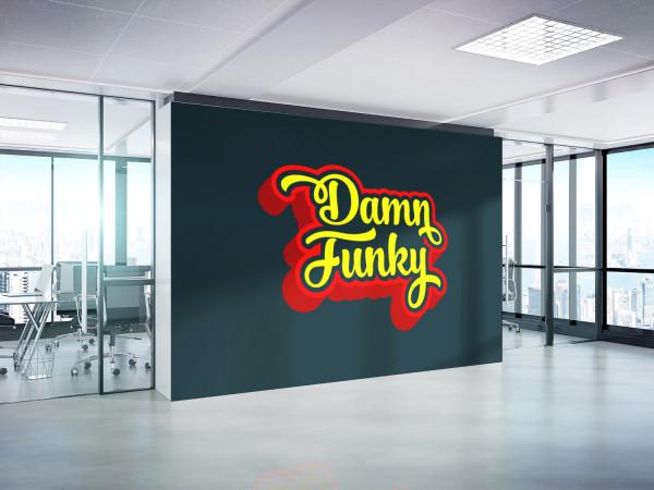 Sample branding #3 for Damnfunky