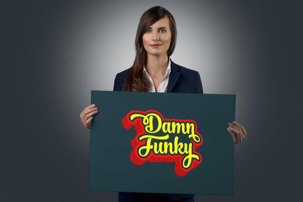 Sample branding #1 for Damnfunky