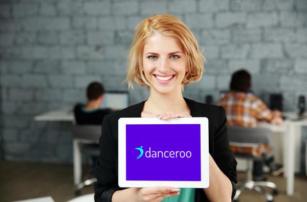 Sample branding #1 for Danceroo