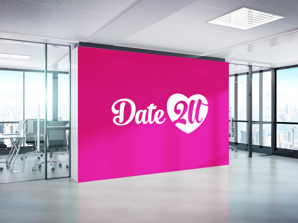 Sample branding #1 for Date2u